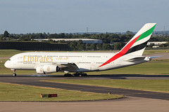 Emirates Airbus A380-861 A6-EOQ BHX 21/06/18