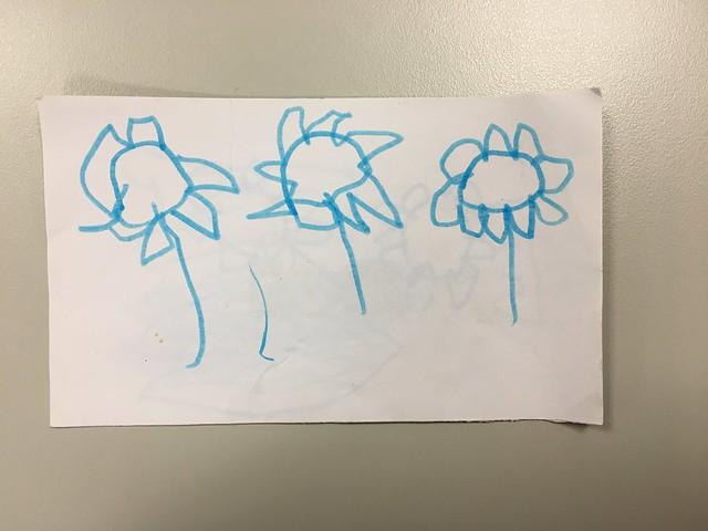 「馬麻說一句好的話,就給妳一朵花花」這天集點集滿XD