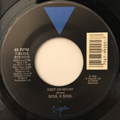 SOUL II SOUL:KEEP ON MOVIN'(LABEL SIDE-B)