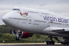 Virgin Atlantic Boeing 747-443 G-VGAL