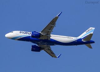 F-WWDU Airbus A320 Neo Indigo
