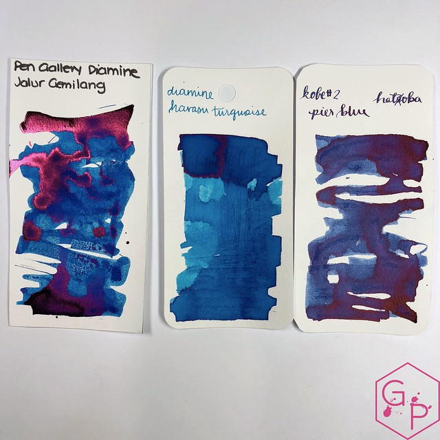 Pen Gallery Diamine Jalur Gemilang Ink Review 7