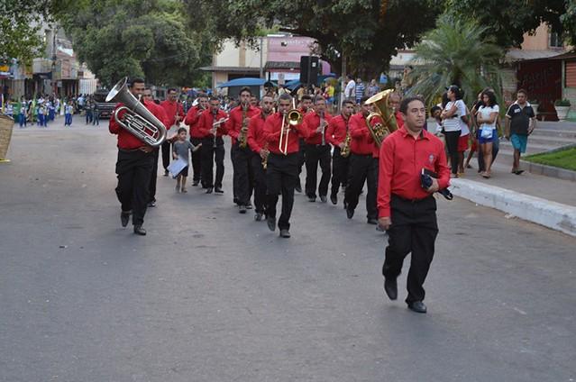 Desfile 7 de setembro em Ipu
