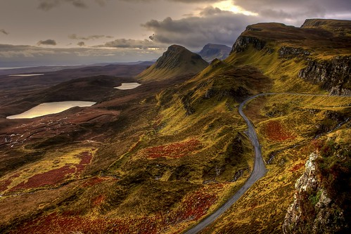 Look at that gorgeous road! Priority: Scenery. From 5 Unique Ways to Road Trip Around the UK