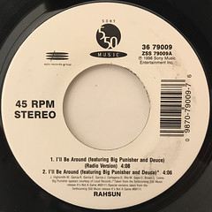 RAHSUN:I'LL BE AROUND(LABEL SIDE-A)