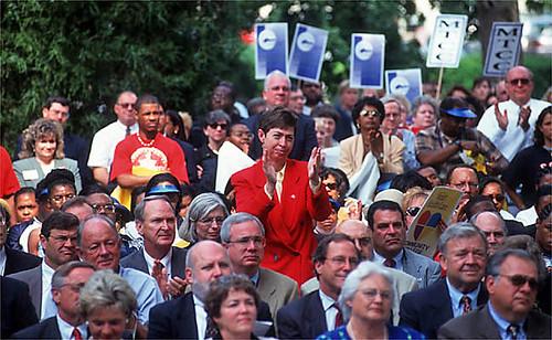Bond referendum rally at the Capitol