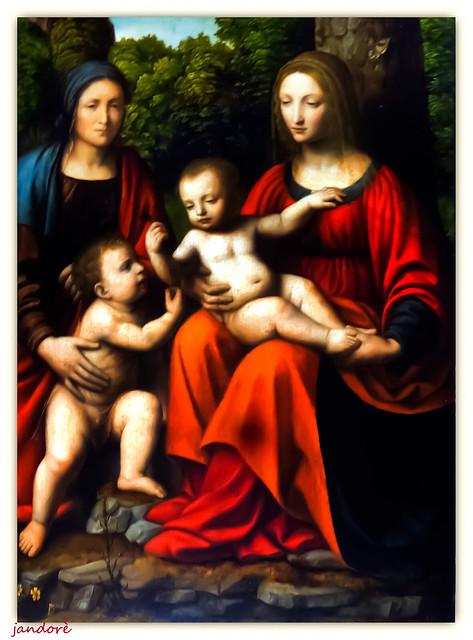 Bernard,Luini-Madonna con Bambino P1160518, Panasonic DMC-FS35