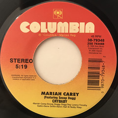 MARIAH CAREY:CAN'T TAKE THAT AWAY(MARIAH'S THEME)(LABEL SIDE-B)