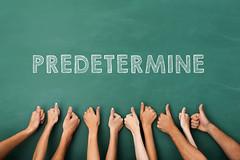 predetermine