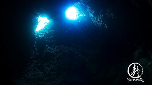 洞窟もきれいでした♪