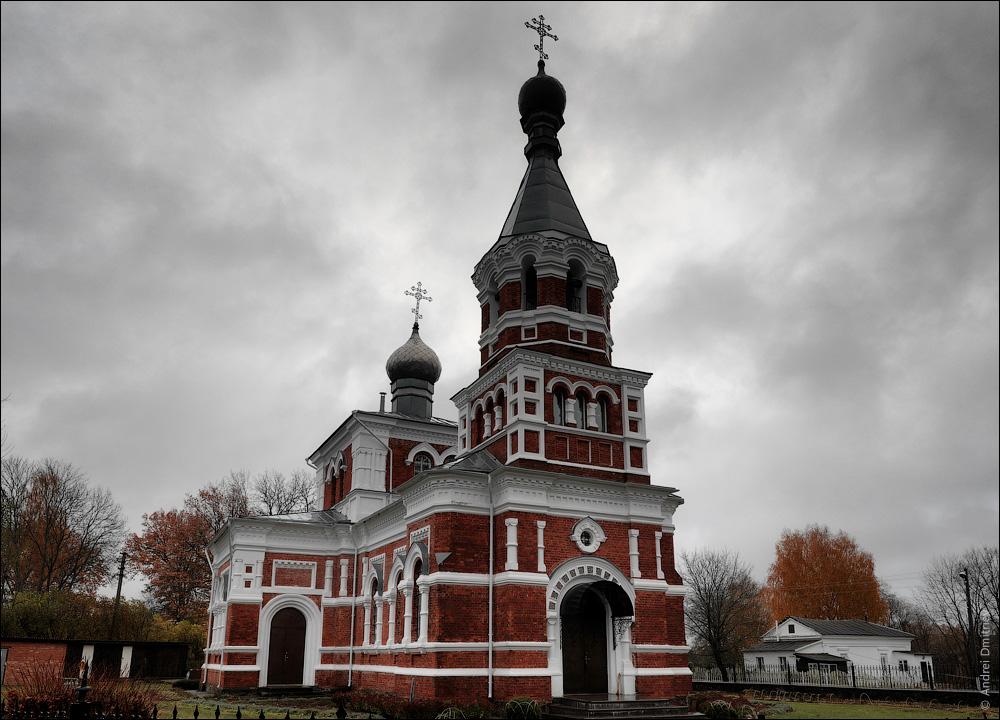 Лужесно, Беларусь, Церковь Вознесенская