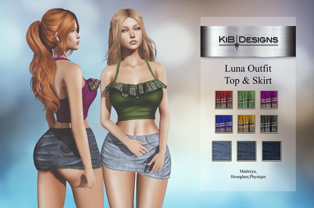 KiB Designs – Luna Outfit @Designer Showcase