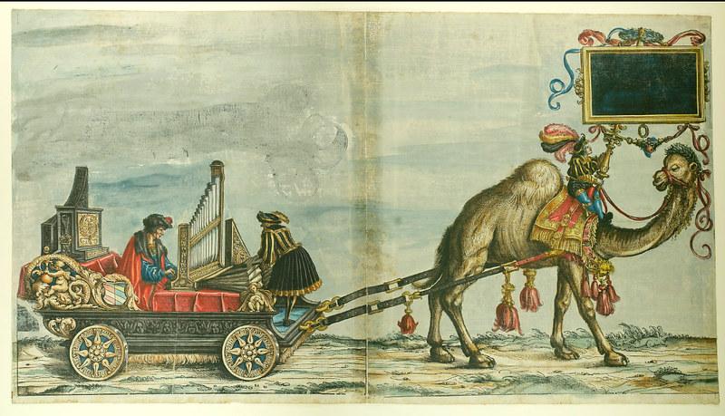 Triumphzug Kaiser Maximilians I, 1526, f. 33, Universitätsbibliothek Graz