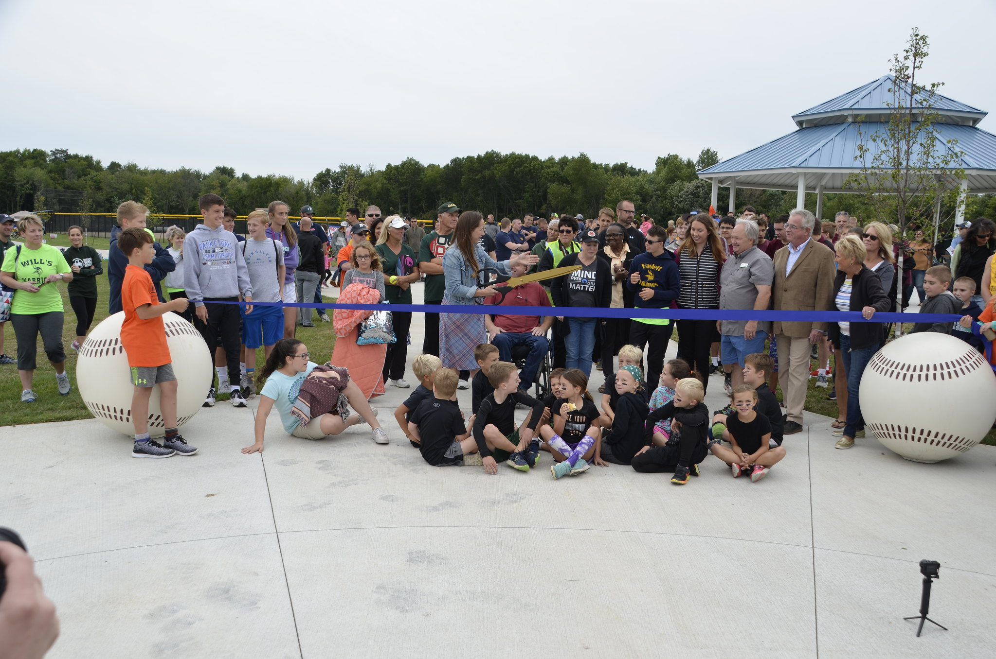 Meridian Township Celebrates Towner Road Park Grand Opening