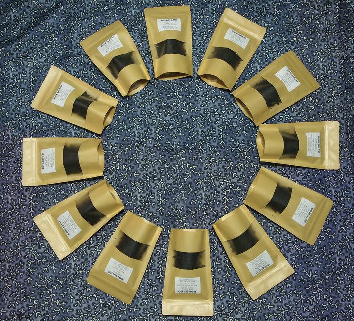 2017-2018 Wuyi Yancha Sample Set including 12 kinds of tea 240g