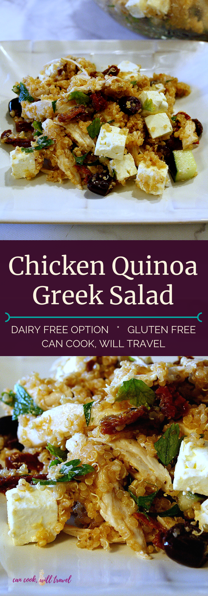 Chicken Quinoa Greek Salad_Collage1