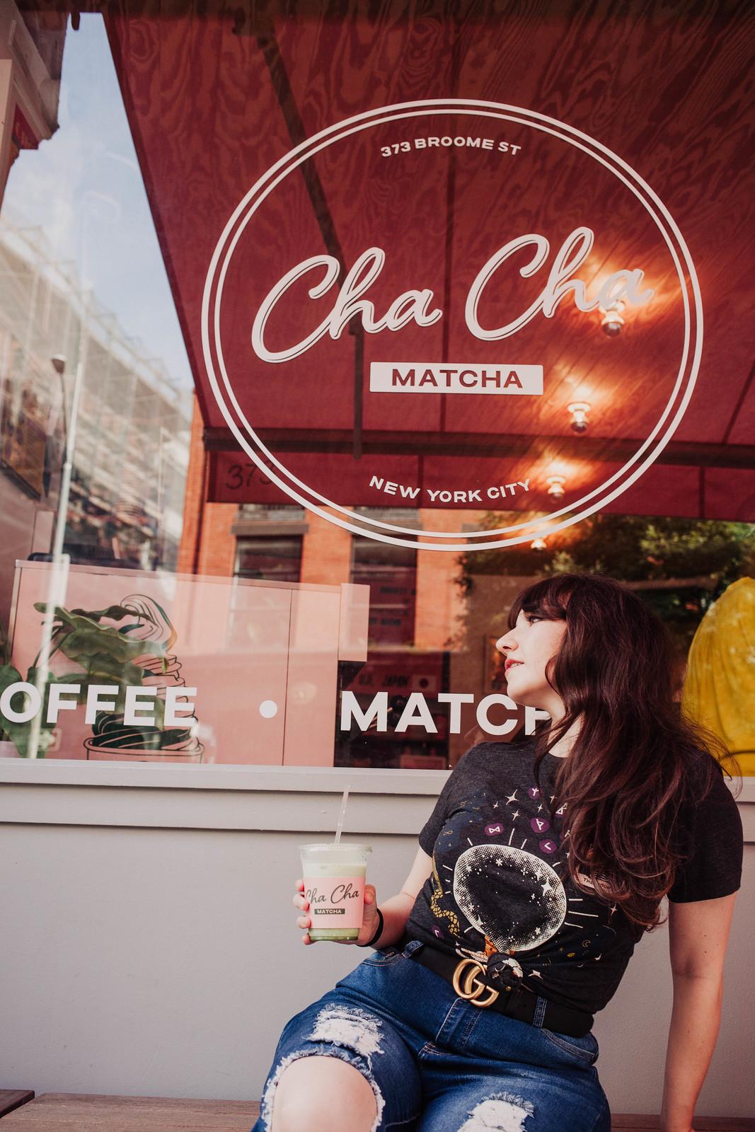 Cha Cha Matcha NYC
