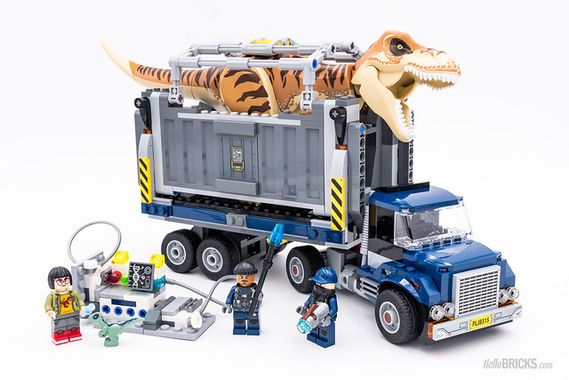 REVIEW LEGO 75933 T-Rex Transport