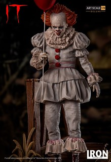 Iron Studios Pennywise Art Scale 1:10 Statue