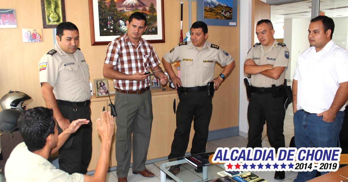 Gobierno local y policía trabajan en seguridad
