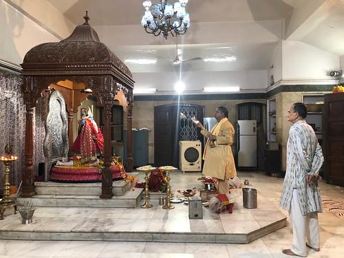 City landmark - A Hindu Graveyard, Kali Bari Temple, CR Park