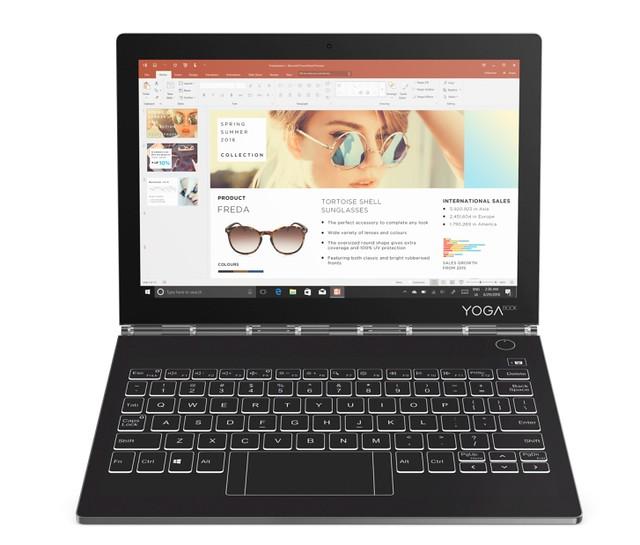 [IFA2018] Le Lenovo Yoga Book C930 passe à l'encre numérique