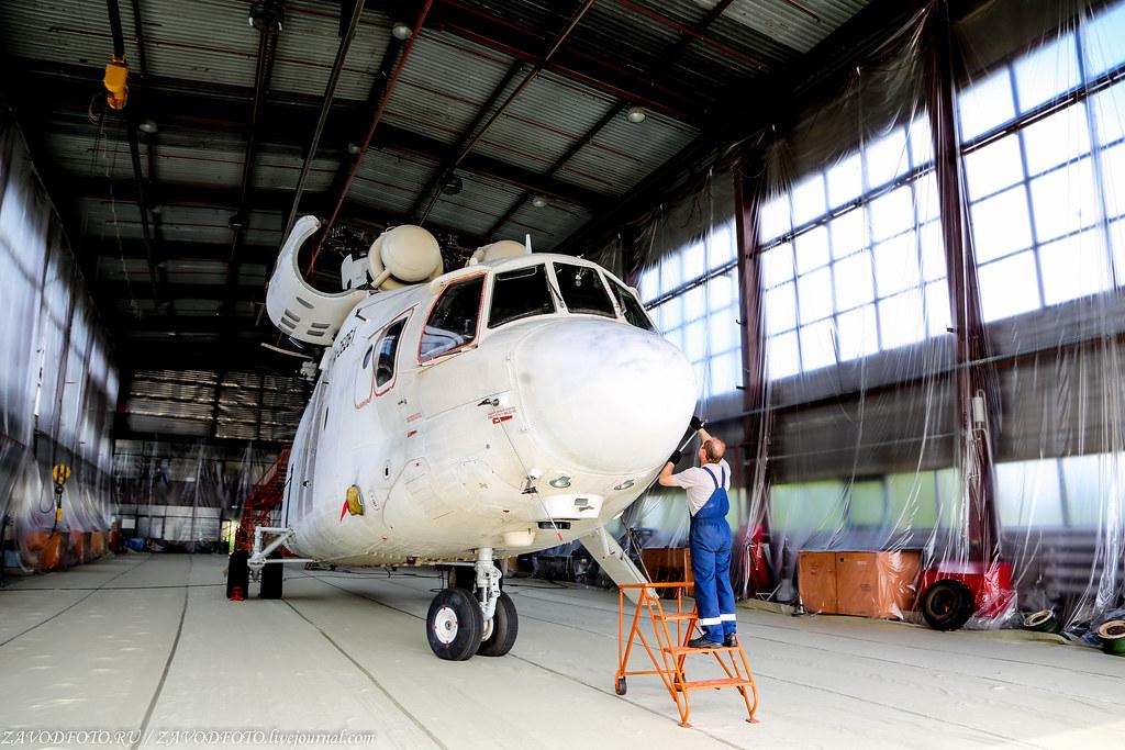 Как ремонтируют вертолёты в Тюмени