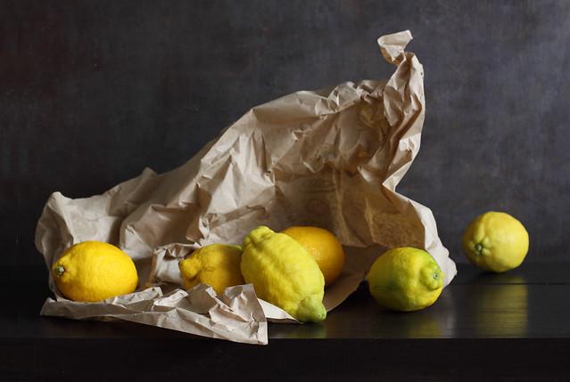 Scrunch Time For Lemons