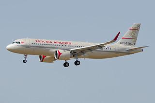 F-WWIN / VT-ATV - Airbus A320-251 NEO - Vistara (TATA Sia Airlines Livery) - msn 8326