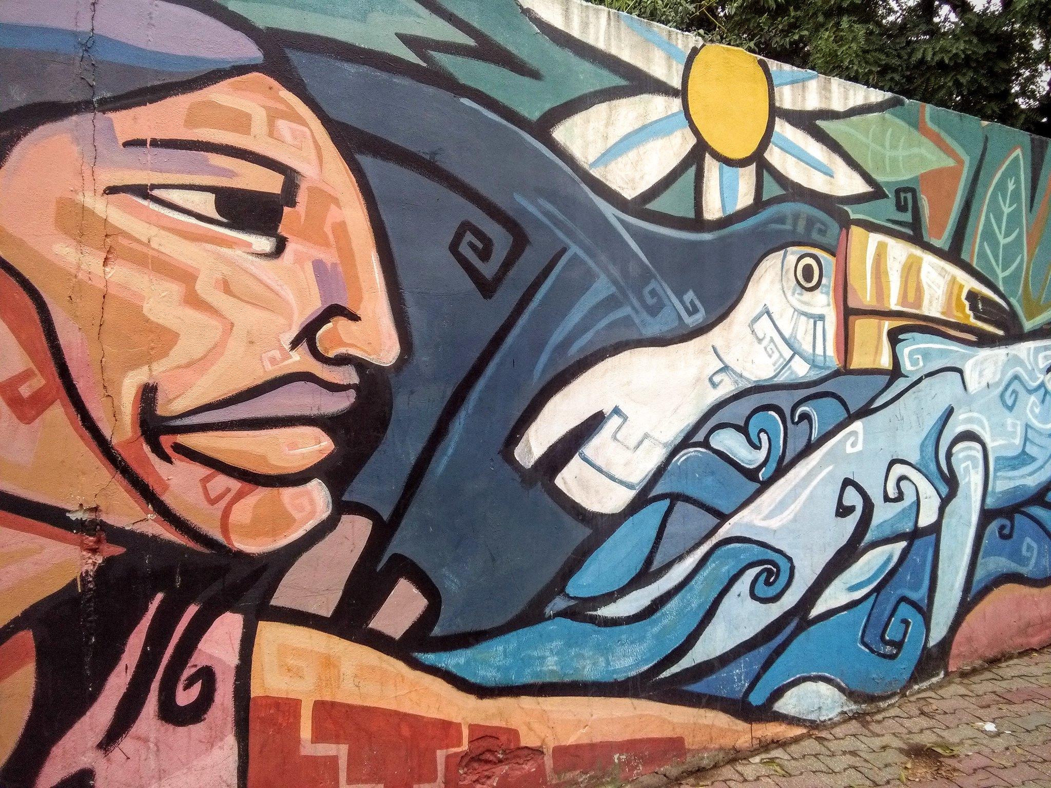 Street art near Museo Cientifico