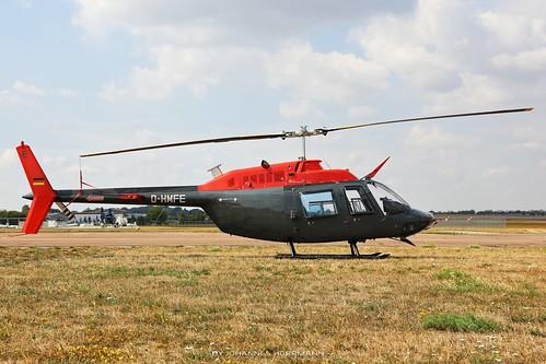 Motorflug Bell 206 D-HMFE @ Halle-Oppin