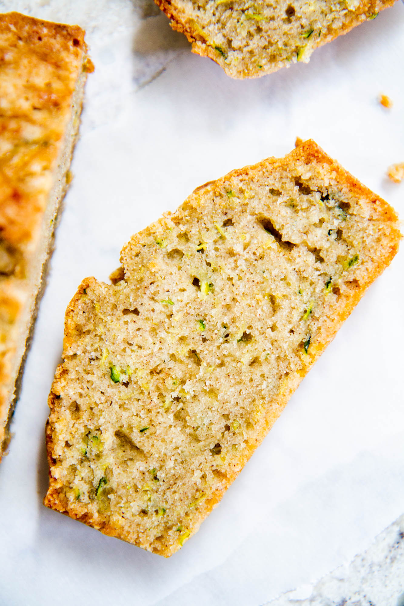 Mom's Zucchini Bread -- this is my mom's best-ever zucchini bread! It's moist, dense and full of sweet flavor. #zucchini #zucchinibread #quickbread @girlversusdough #girlversusdough