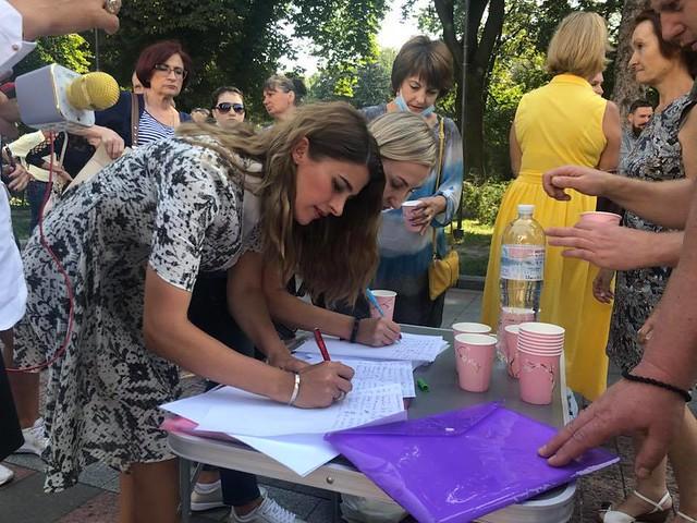 Збір підписів під вимогами до МОЗу