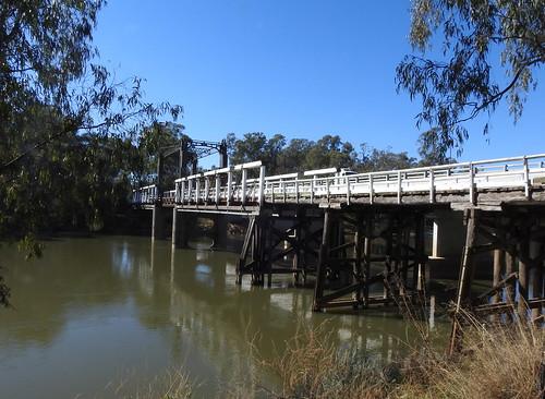 The Old Cobram-Barooga Bridge