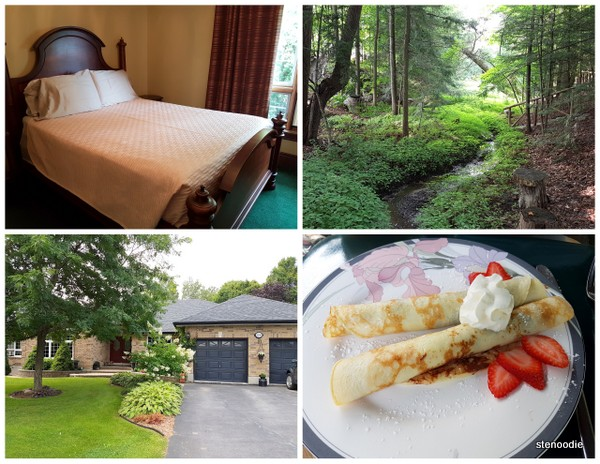 Woodland Garden Bed and Breakfast collage