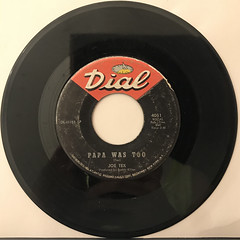 JOE TEX:PAPA WAS TOO(RECORD SIDE-A)