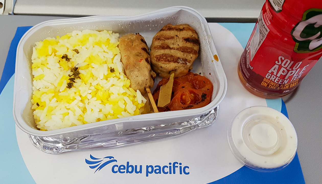 Cebu Pacific Air in-flight meal