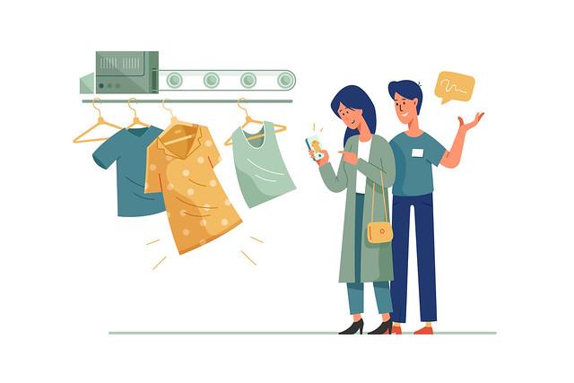 Online Shopping Image Light