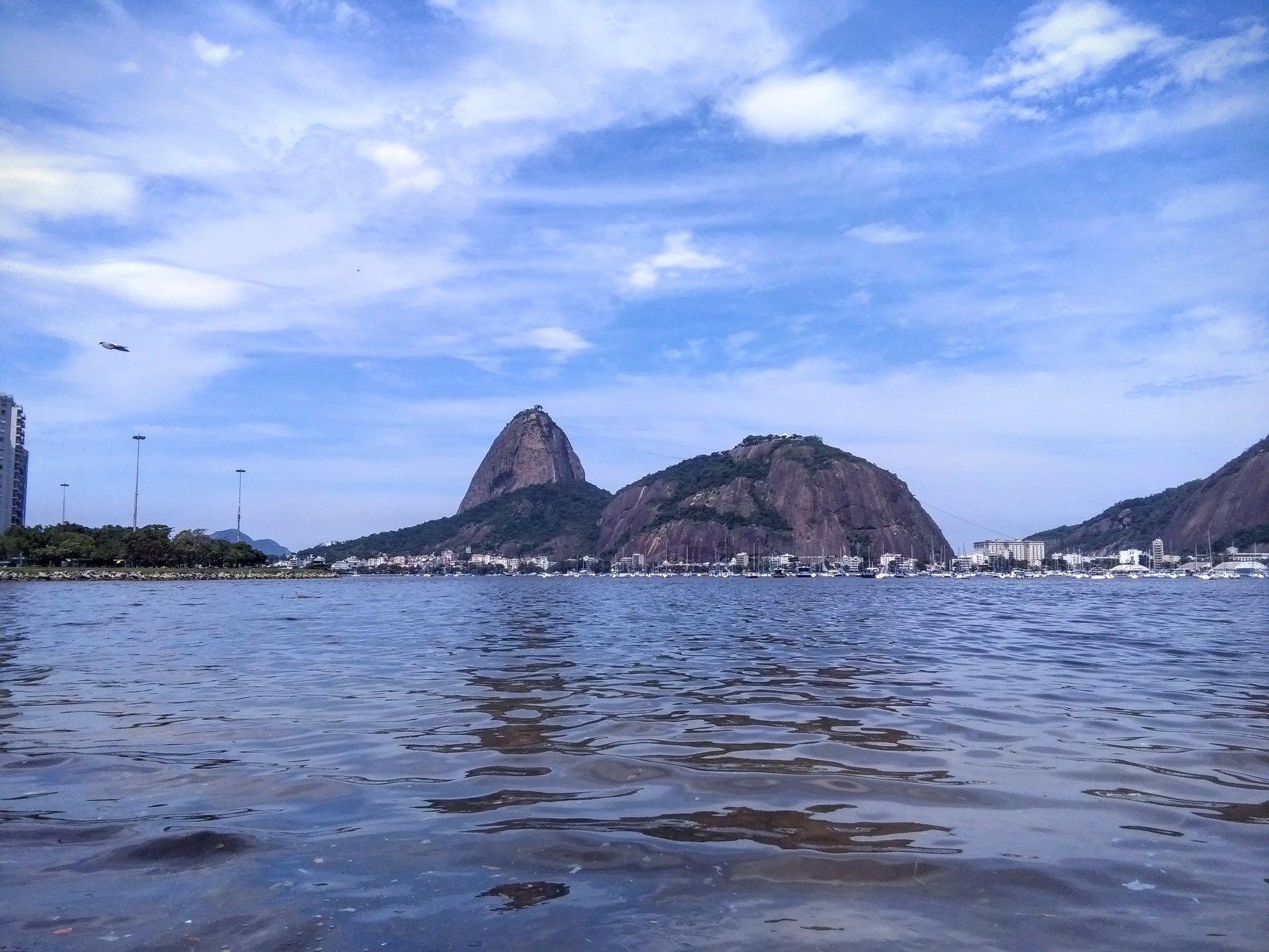 The Sugarloaf from Botafogo beach