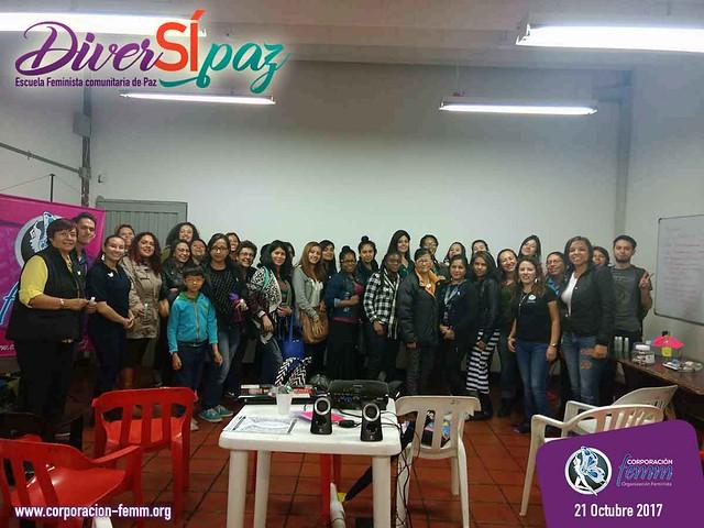 Femm llevó Diversípaz a Tunjuelito 2017