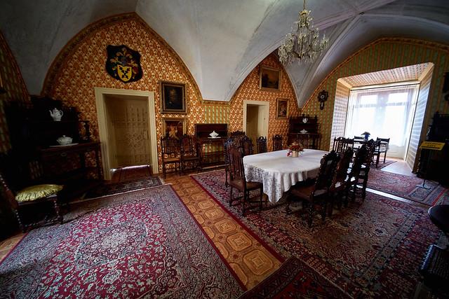 Schloß in Letovice - Innenansicht