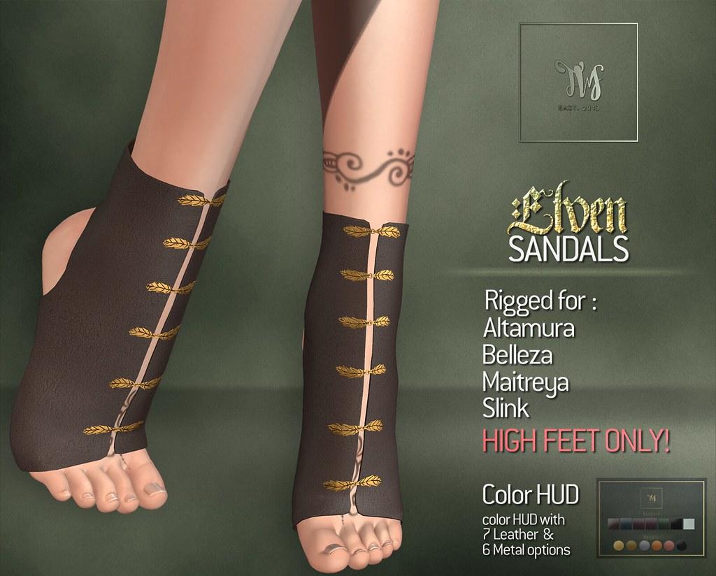 TWS - Elven Sandals - TeleportHub.com Live!