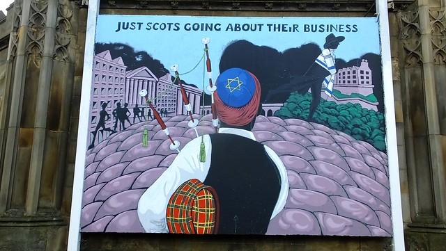 Just Scots Going Around Their Business