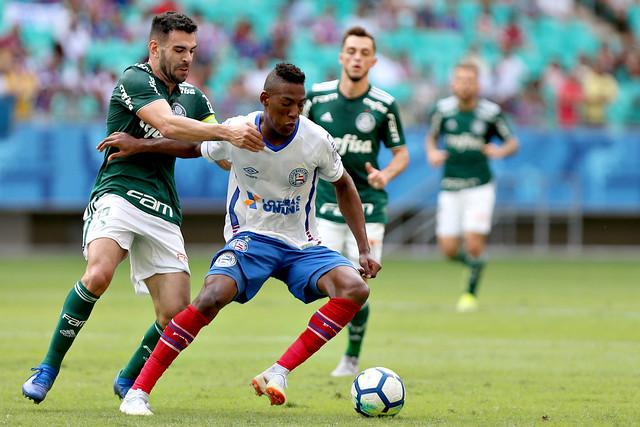 Bahia 1x1 Palmeiras - Brasileiro A 2018 por Felipe Oliveira
