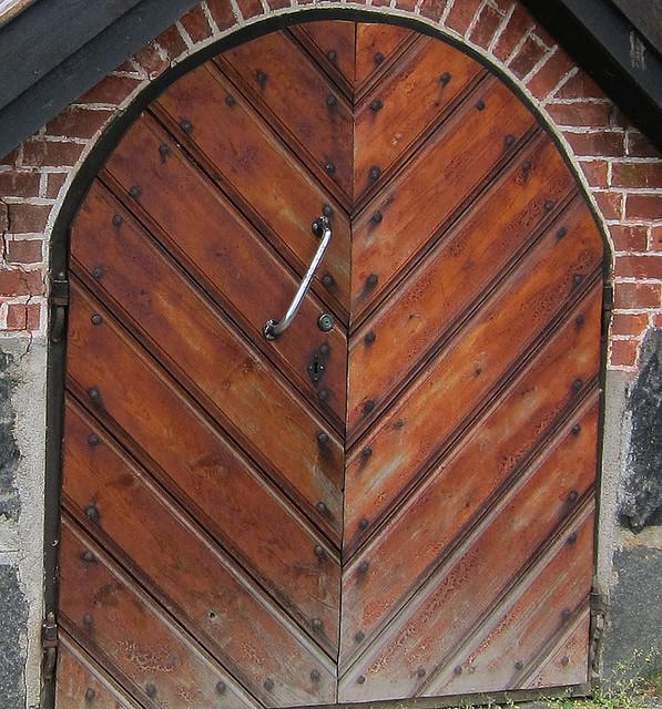 kirkkoaitan ovi Tammelassa
