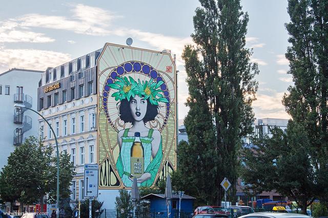 Street art in Mühlenstrasse