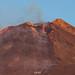 L'attività eruttiva durante l'alba del 28 Agosto 2018. by Marco Restivo