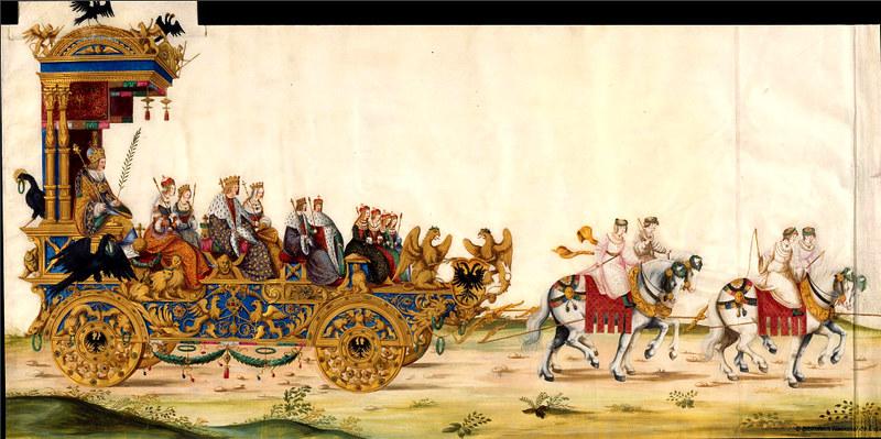 Triunfo del Emperador Maximiliano I, Rey de Hungría, Dalmacia y Croacia, Archiduque de Austria, XVI-XVII, f. 78, Biblioteca Nacional de España