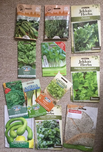 Bargain bucket seeds