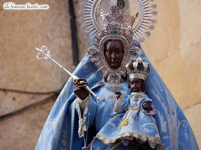 Procesión de regreso de la Virgen de Guadalupe